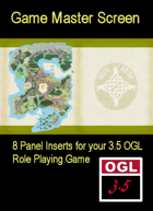 3.5 OGL Masters' Screen