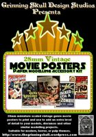 28mm Vintage Movie Posters