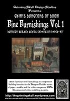 Grim's Dungeons of Doom: Fine Furnishings Volume 1