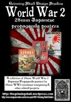 World War 2 28mm Japanese Propaganda posters