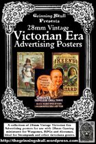 28mm Vintage Victorian Era Advertising posters