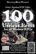 100 Useless items for all Modern RPGs