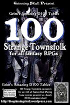 100 Strange Townsfolk for all Fantasy RPGs