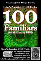 100 Familiars for all Fantasy RPGs