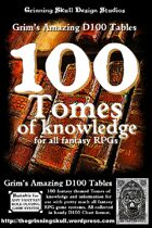 100 Tomes of Knowledge for all Fantasy RPGs