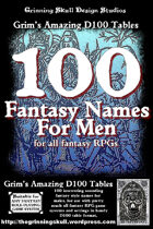 100 Fantasy Names for Men for all fantasy RPGs