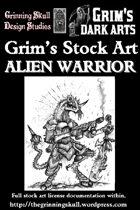 Grim's Stock Art: Alien Warrior
