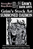Grim's Stock Art: Summoned Daemon