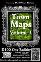Town Maps Volume 1.