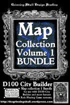 D100 City Builder: Map Collection Vol 1  [BUNDLE]