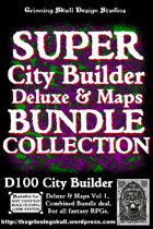 D100 City Builder: Super Collection (Deluxe & Maps) [BUNDLE]
