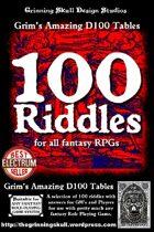 100 Riddles for all fantasy RPGs