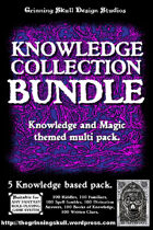 Grim's Amazing D100 Tables: Knowledge Collection [BUNDLE]