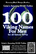 100 Viking Men's Names for all fantasy RPGs