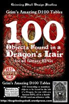 100 Objects Found in a Dragon's Lair for all fantasy RPGs