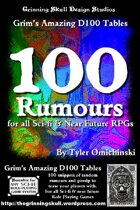 100 Rumours for all Sci-fi and Near future RPGs
