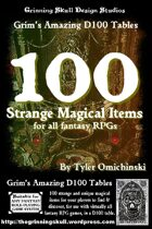 100 Strange Magical Items for all fantasy RPGs