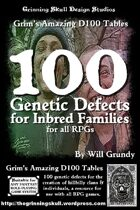 100 Genetic Defects for Inbred Families for all RPGs