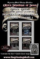 Quick Quest Postermap Floorplans Vol 1 [BUNDLE]