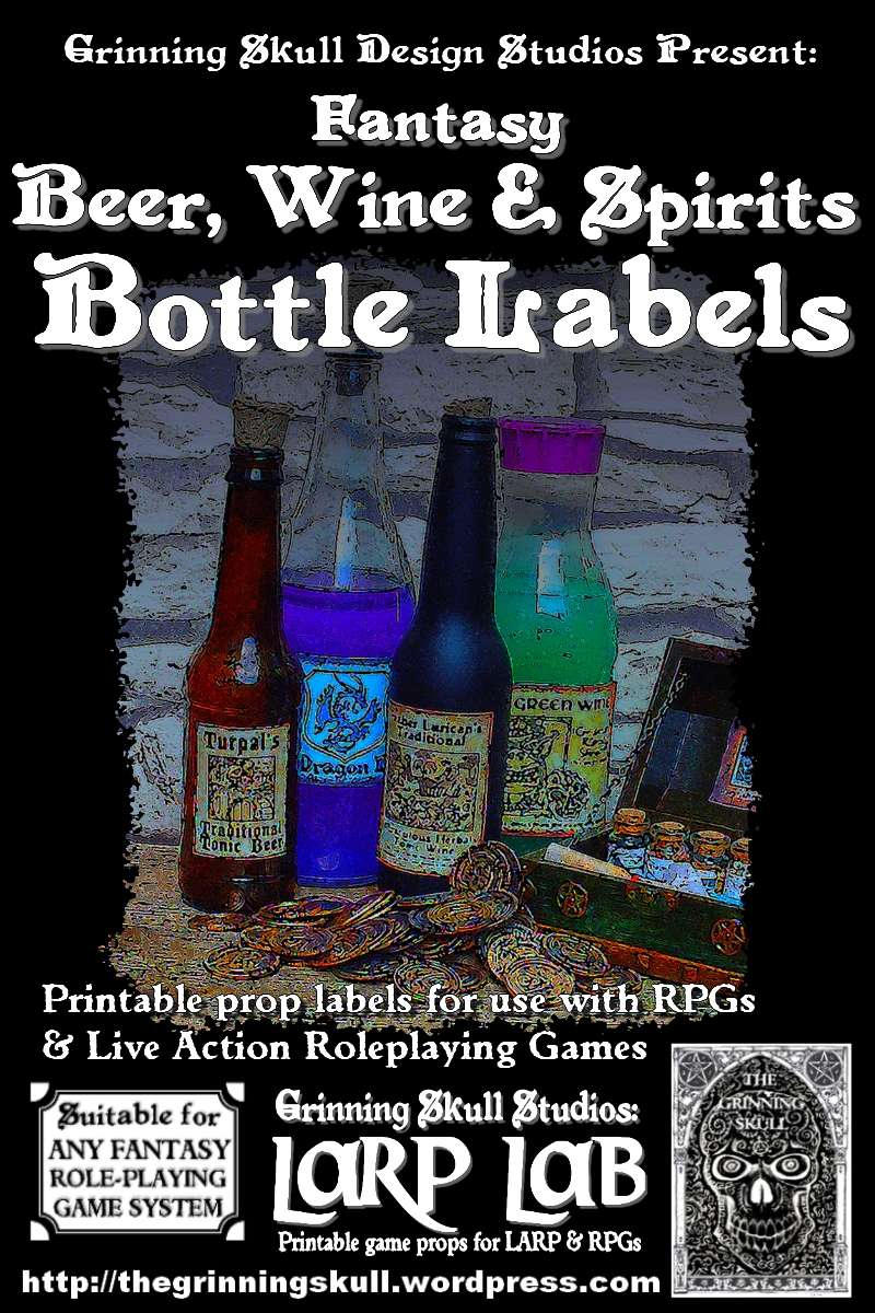 photograph relating to Printable Beer Bottle Labels referred to as Watermarked PDF