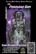 Ferrous Sun: Ship Plans Poster