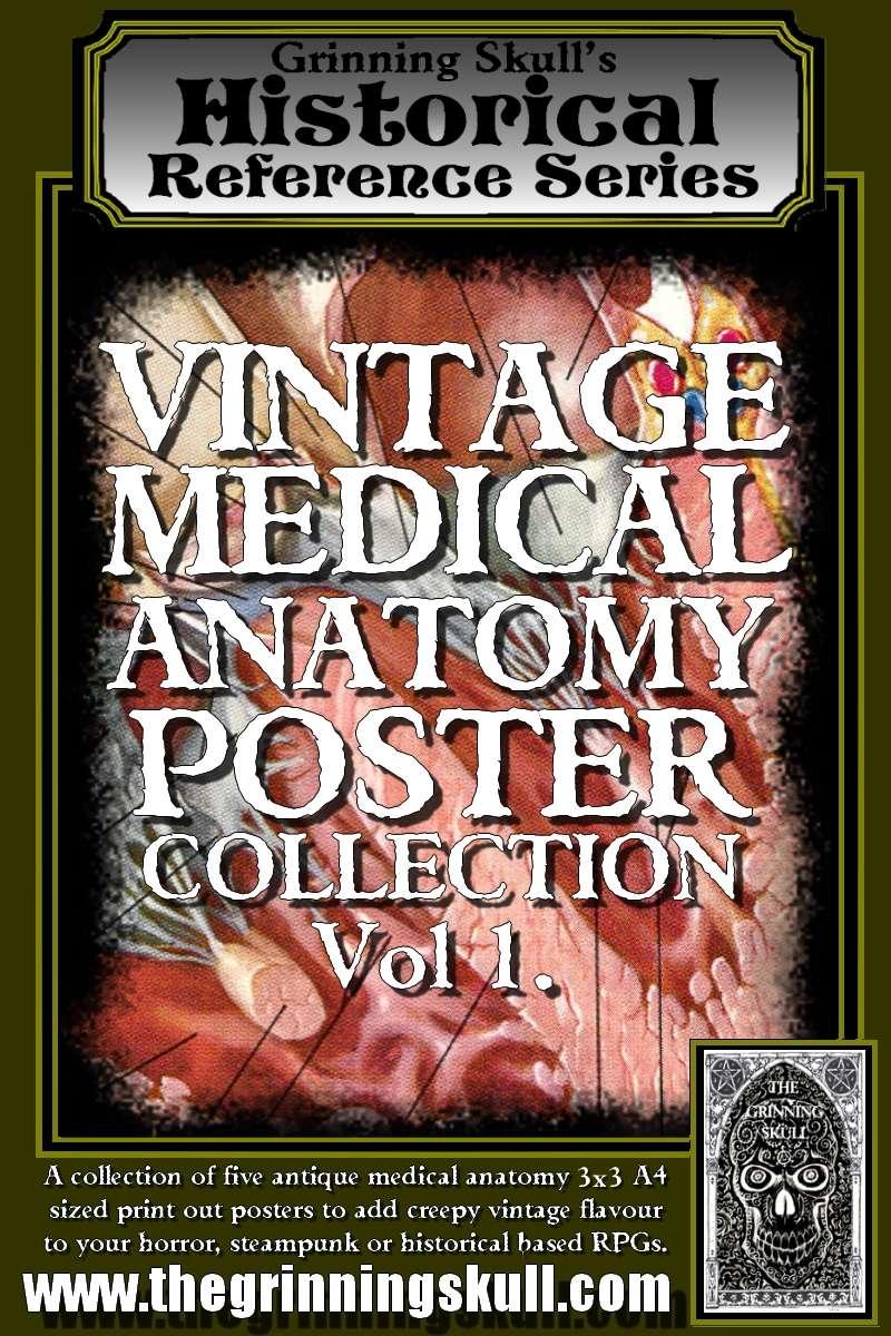 Grinning Skull\'s Historical Reference Series: Vintage Medical ...