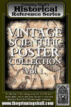 Grinning Skull\'s Historical Reference Series: Vintage Scientific Poster Collection Vol 1.