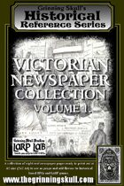 Grinning Skull's Historical Reference Series: Victorian Newspaper Collection Vol 1.