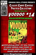 Classic Comic Covers Posters: Skeletal Spectres 8x8: Voodoo #14