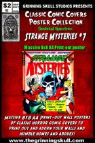 Classic Comic Covers Posters: Skeletal Spectres 8x8: Strange Mysteries #7