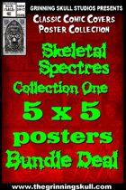 Classic Covers: Skeletal Spectres 1 5x5 Bundle [BUNDLE]