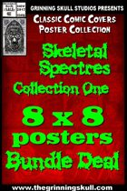 Classic Covers: Skeletal Spectres 1 8x8 Bundle  [BUNDLE]