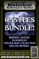 Castles Bundle! British Castles Floorplans Bundle 1. [BUNDLE]
