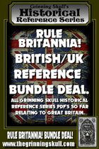RULE BRITANNIA! British/UK Reference Bundle Deal [BUNDLE]