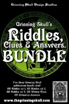 Grinning Skull's Riddles, Clues & Answers Bundle [BUNDLE]