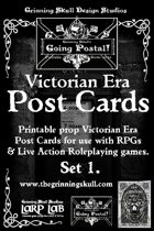 LARP LAB: Going Postal: Victorian Era Post Cards, printable props