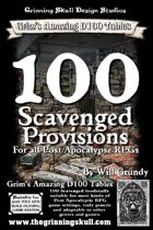 100 Scavenged Provisions for all Post Apoc RPGs