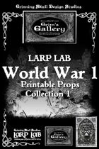 LARP LAB: WW1 Printable Props Collection 1 [BUNDLE]
