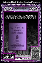LARP LAB Historical Reference: 1889 Salavtion Army Soldiers' Songbook