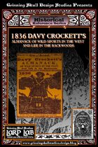 LARP LAB Historical Reference: 1836 Davy Crockett's Almanack