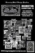 Olde Skool Back2basics Monster Counters #1