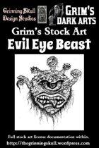 Grim's Stock Art Evil Eye Beast