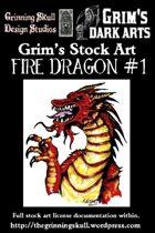 Grim's Stock Art: Fire Dragon #1