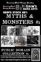 Grim's stock Arts: Myths & Monsters #1: Public Domain Collection #1.
