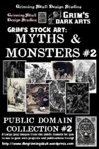 Grim's stock Arts: Myths & Monsters #2: Public Domain Collection #2.