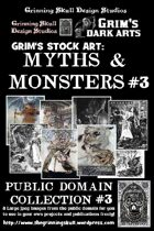 Grim's stock Arts: Myths & Monsters #3: Public Domain Collection #3.