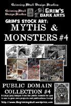 Grim's stock Arts: Myths & Monsters #4: Public Domain Collection #4.