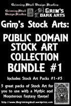 Grim's Stock Arts: Public Domain Stock Art Collection 1 [BUNDLE]