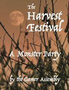 Harvest Festival Monster Party