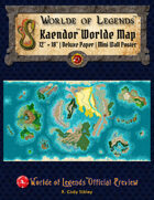 Worlde of Legends™ Kaendor™ Worlde Map